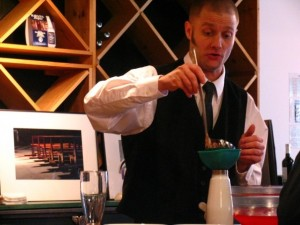 Stephen Dennison, Chef/ Mixologist of Z's Fusion Louisville, Kentucky