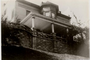 Photo from the early 1900's of The Pogue House