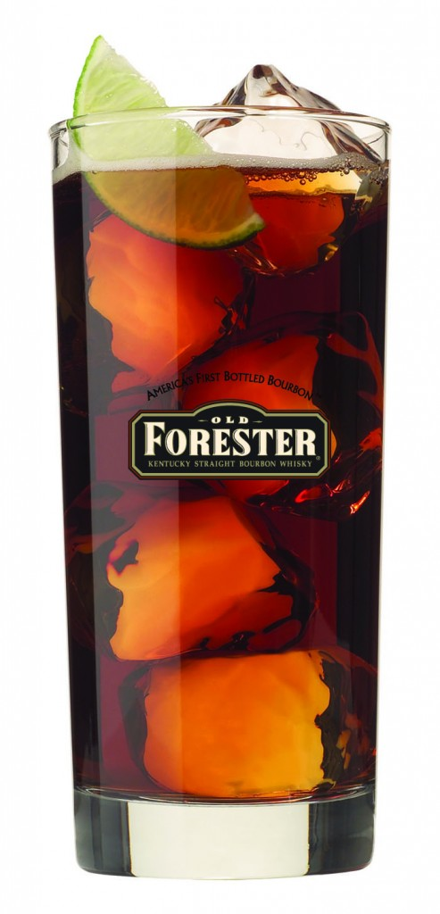 Blacky Friday Cocktail with Old Forester Bourbon