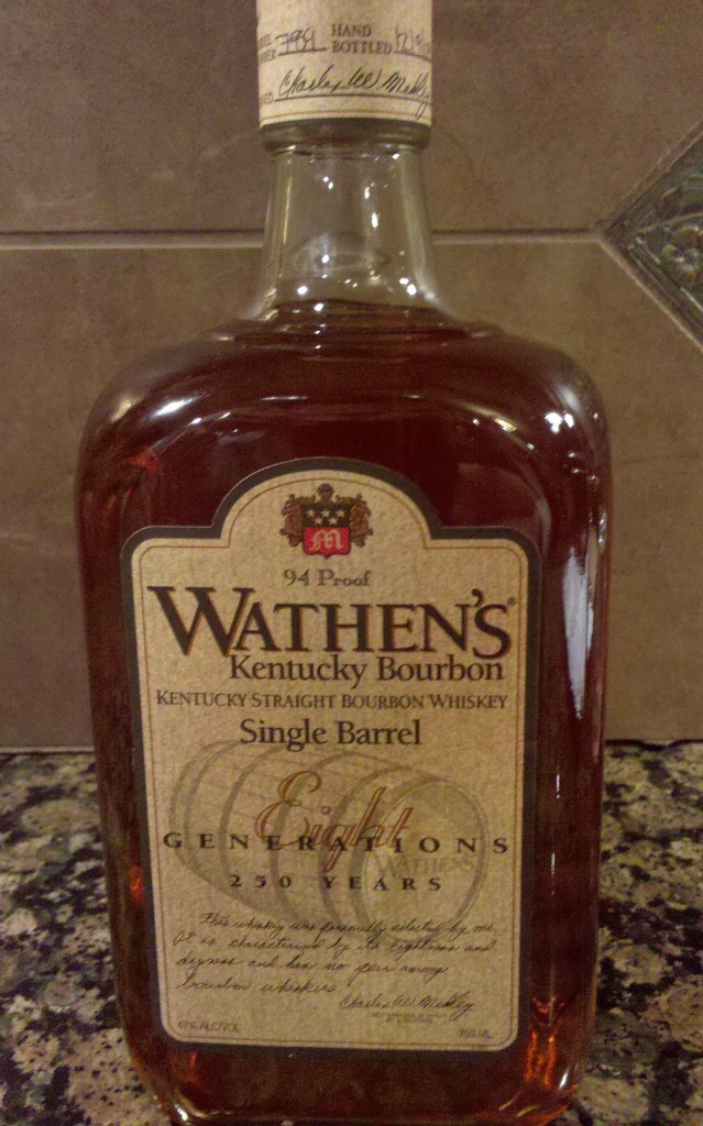 Wathen's Single Barrel Bourbon review
