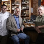Bourbons Bistro Team Chef Michael Crouch  Owners Jason Brauner John Morrison