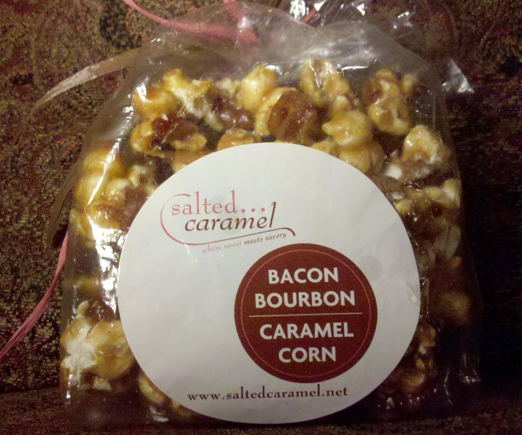 Bacon Bourbon Caramel Corn by Salted Caramel