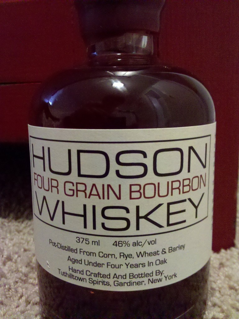 Tuthilltown Spirit's Hudson Four Grain Bourbon Whiskey Review