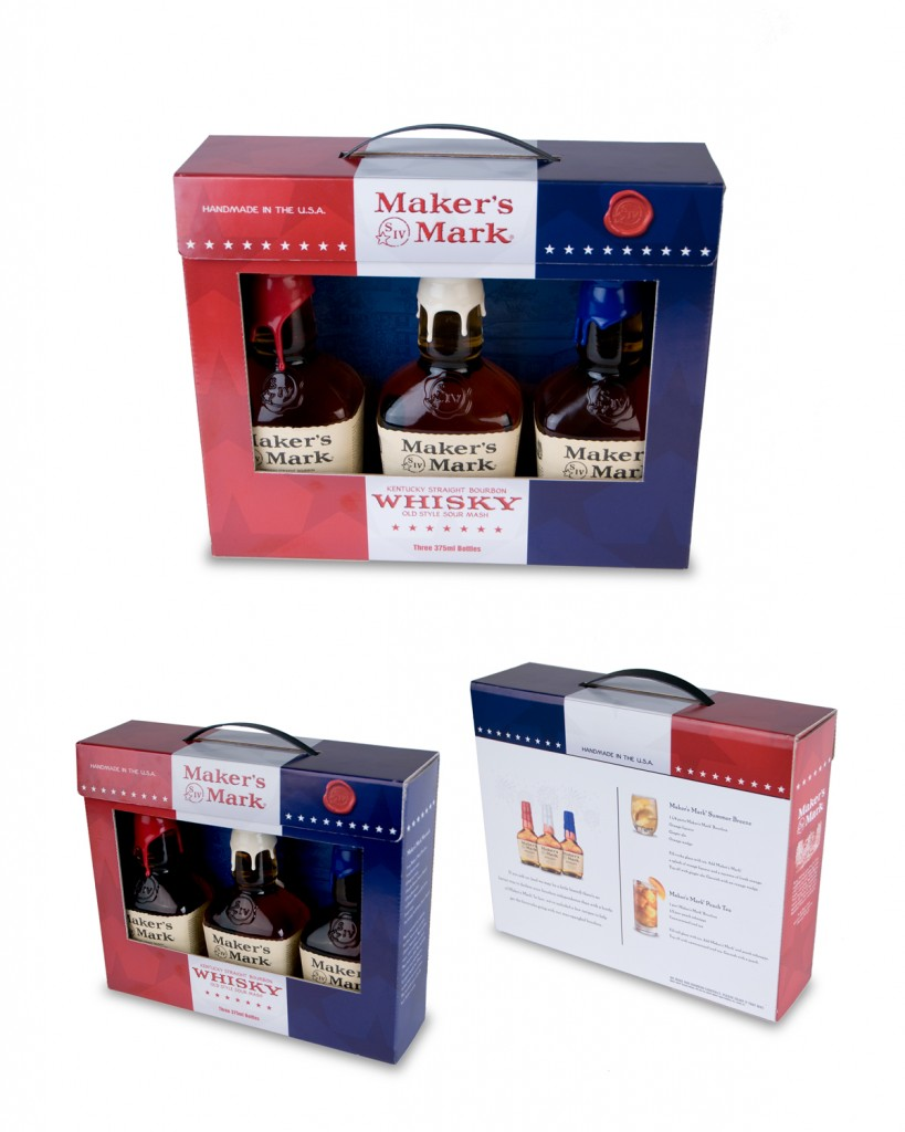 Makers Mark Bourbo 4th of July Tri-Pack