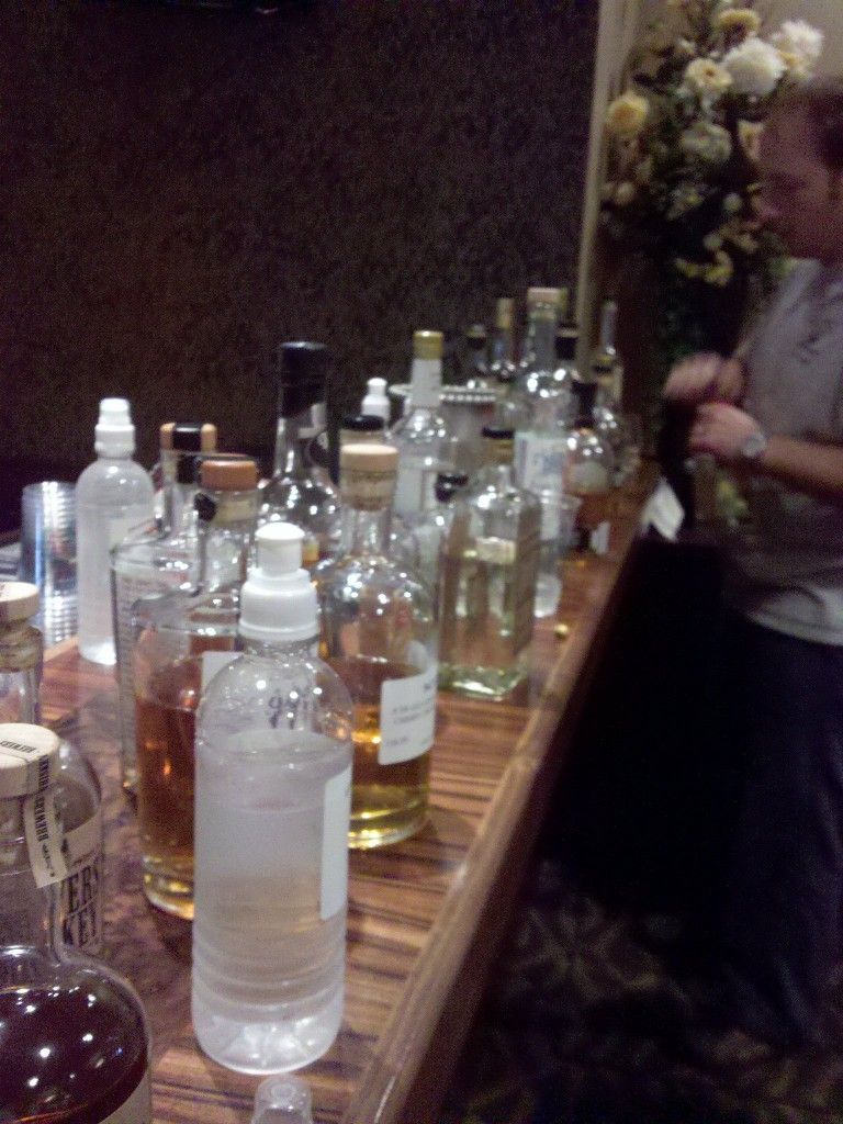 Craft distillers whiskey tasting ADI conference