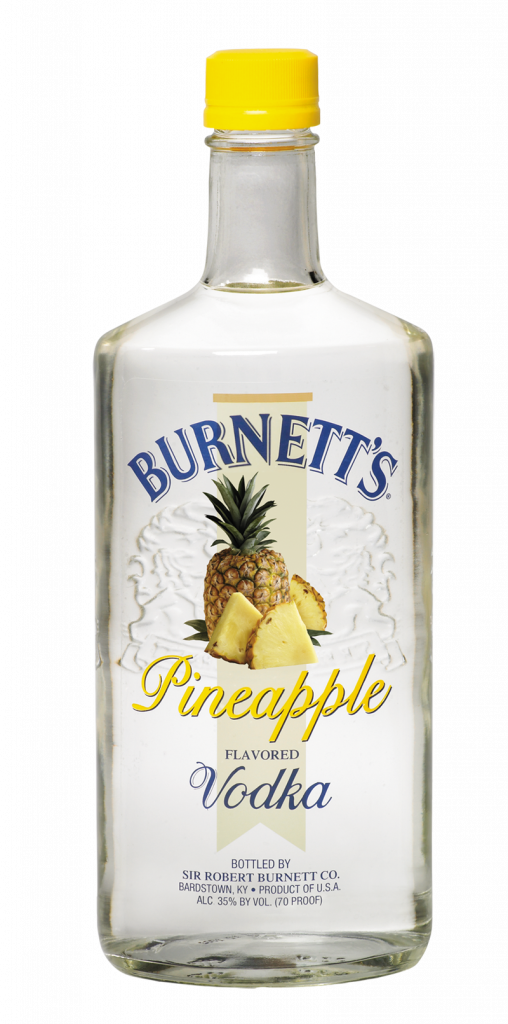 Burnetts Pineapple Vodka New Vodka