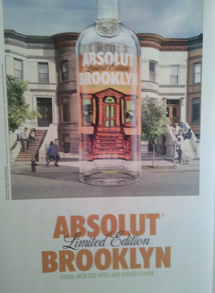 Absolut Brooklyn Limited Edition Vodka