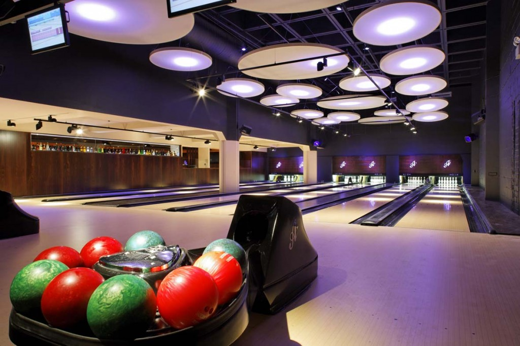 Bowling Alleys at All Star Lanes, Brick Lane