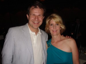 BourbonBlog.com's Tom Fischer with Ann Tuennerman, Founder and Executive Director of Tales of the Cocktail