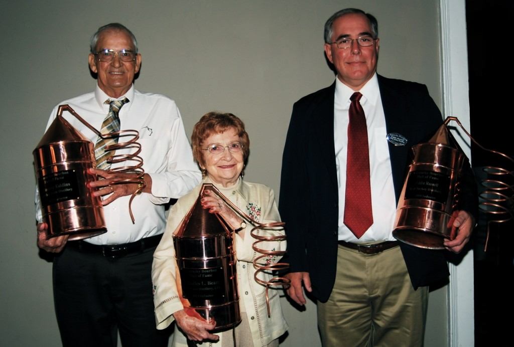Left to Right: Ronnie Eddins, Mrs. Charles L. Beam and Eddie Russell