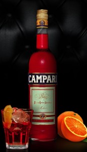 Campari Bottle