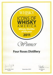 Icons of Whisky Distiller of the Year 2011