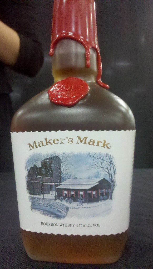 Maker's Mark Holiday Christmas Bottle