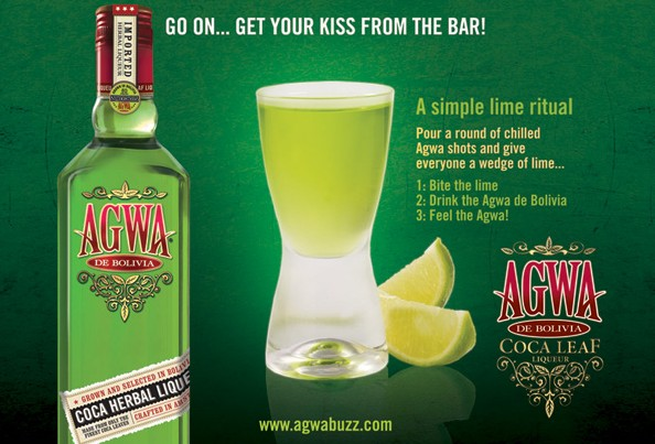 AGWA de Bolivia Cocktail recipes