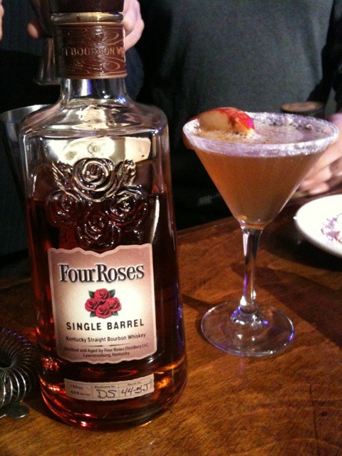 Bardstown Rose Recipe O'Shea's Irish Pub takes title for Highlands' top holiday cocktail in Four Roses' Holiday Bourbon Battle
