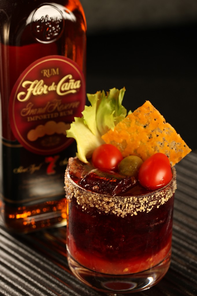 Rum Cocktails Flor de Caña 7 year old rum