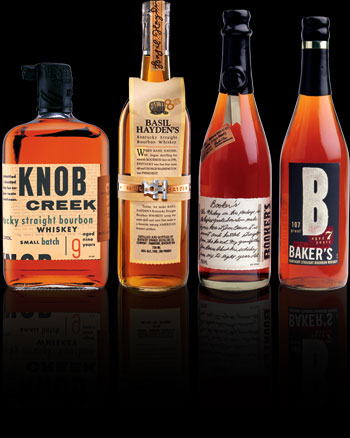 Small Batch Collection Jim Beam Basil Hayde's Knob Creek Baker's Booker's