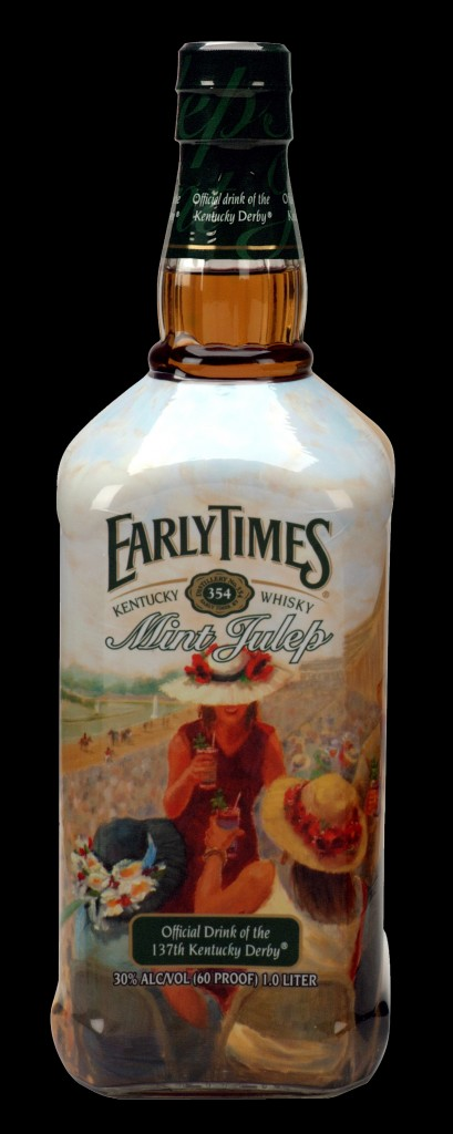 Early Times Mint Julep Bottle Kentucky Derby 137 2011