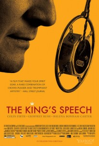 The Kings Speech Movie Poster
