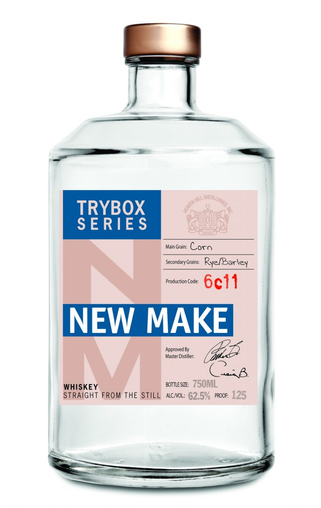 Try Box New Make Whiskey Bottle Heaven Hill