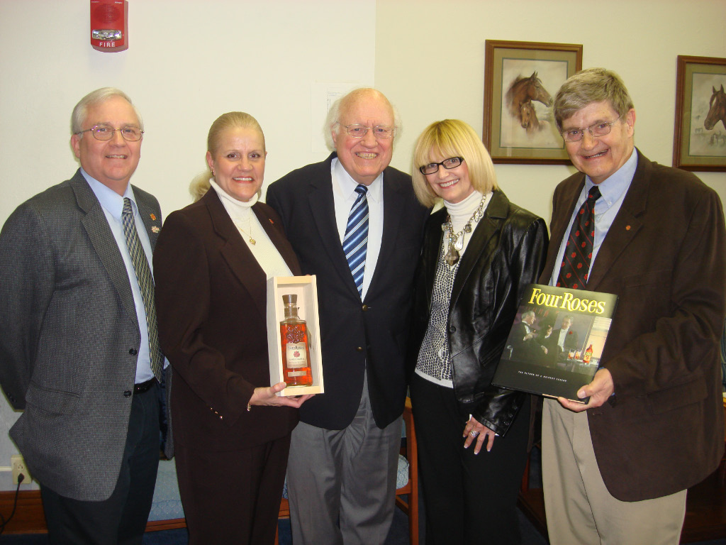 Four Roses Distillery Friends Honored by the Kentucky Senate