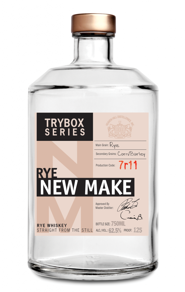 Rye New Make Whiskey Trybox Series Heaven Hill Distilleries