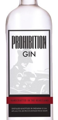 Indiana Prohibition Gin by Heartland Distillers