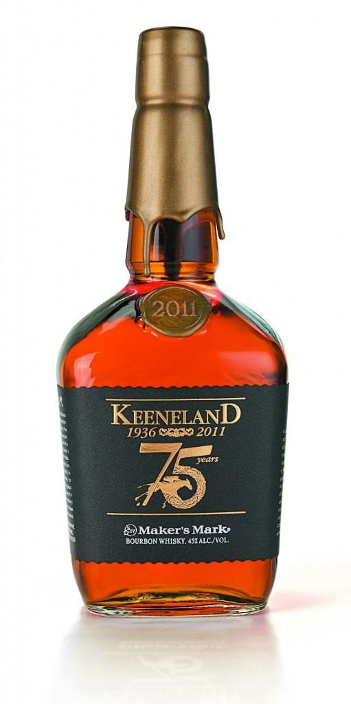Keeneland Makers Mark Bourbon Bottle 75 Limited Edition