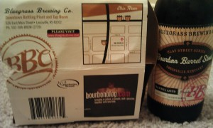 BBC Bourbon Barrel Stout Louisville Kentucky