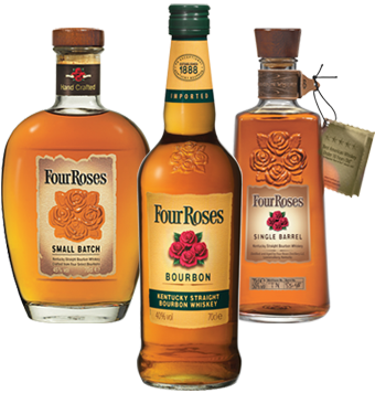 Four Roses Yellow Label Four Roses Small Batch Four Roses Single Barrel