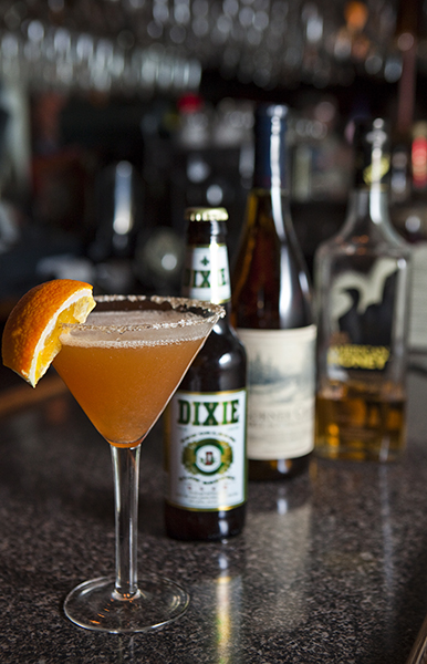 Beer Bourbon BBQ Cocktail