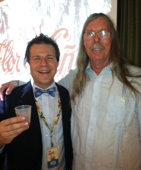 Ed Hamilton of Ministry of Rum and BourbonBlog.com's Tom Fischer