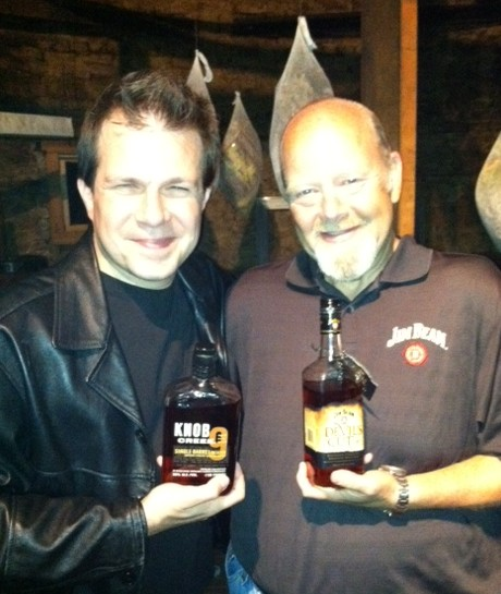 BourbonBlog's Tom Fischer with Fred Noe, 7th Generation Jim Beamy Family Distiller