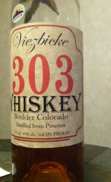 303 Whiskey Boulder Distillery, Boulder Colorado