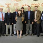 Jerry Summers (Jim Beam), Tisha Surrett (Alltech), Matt Cordle (Alltech), David Hobbs (Heaven Hill), John Rhea (Four Roses), Brittany Dowell (KDA), Dee Ford (Brown-Forman), Jeff Wiseman (Barrel House), Peter Wright (Barrel House), Jimmy Russell (Wild Turkey) and Eric Gregory (KDA).