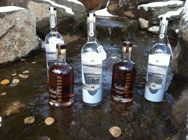 Breckenridge Distillery, Breckenridge Colorado Bourbon and Vodka