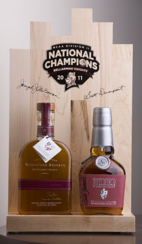 Bellarmine University Basketball Bourbon Maker's Mark Woodford Reserve