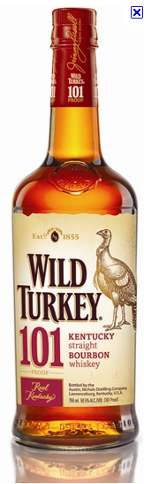 New Wiid Turkey Bourbon Bottle design
