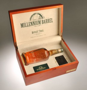 Buffalo Trace Millennium Bourbon Barrel Bottle