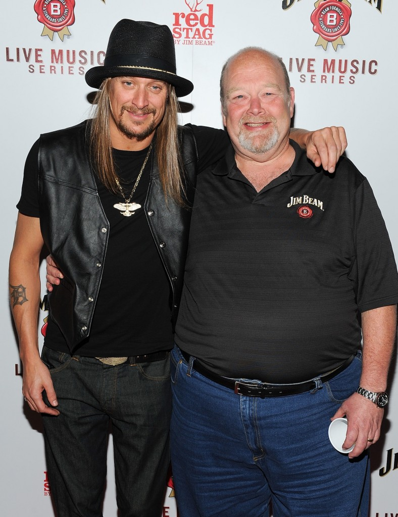 Kid Rock and Jim Beam Master Distiller Fred Noe at Austin's SXSW