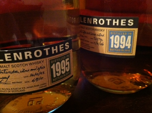 The Glenrothes 1995 Scotch whisky