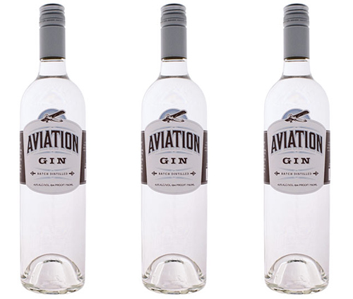 Aviation Gin Bottles
