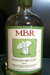 Kentucky Mint Julep Liqueur