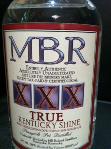 MBR True Kentucky Shine