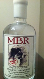 MBR White Dog Corn Whiskey