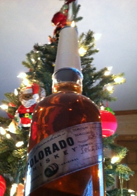 Is there any wonder that Stranahan's Colorado Whiskey makes it feel like a holiday anytime of the year? It seems evident in the shape of the bottle and the warmth of the whiskey