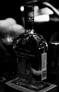 Woodford Reserve Bourbon Bottle