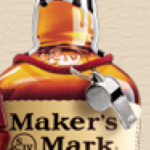 Makers Mark Referee Bottle