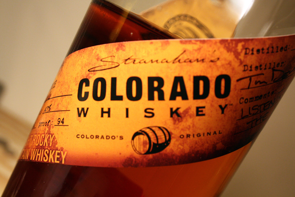 Stranahan's Colorado Whiskey Bottle
