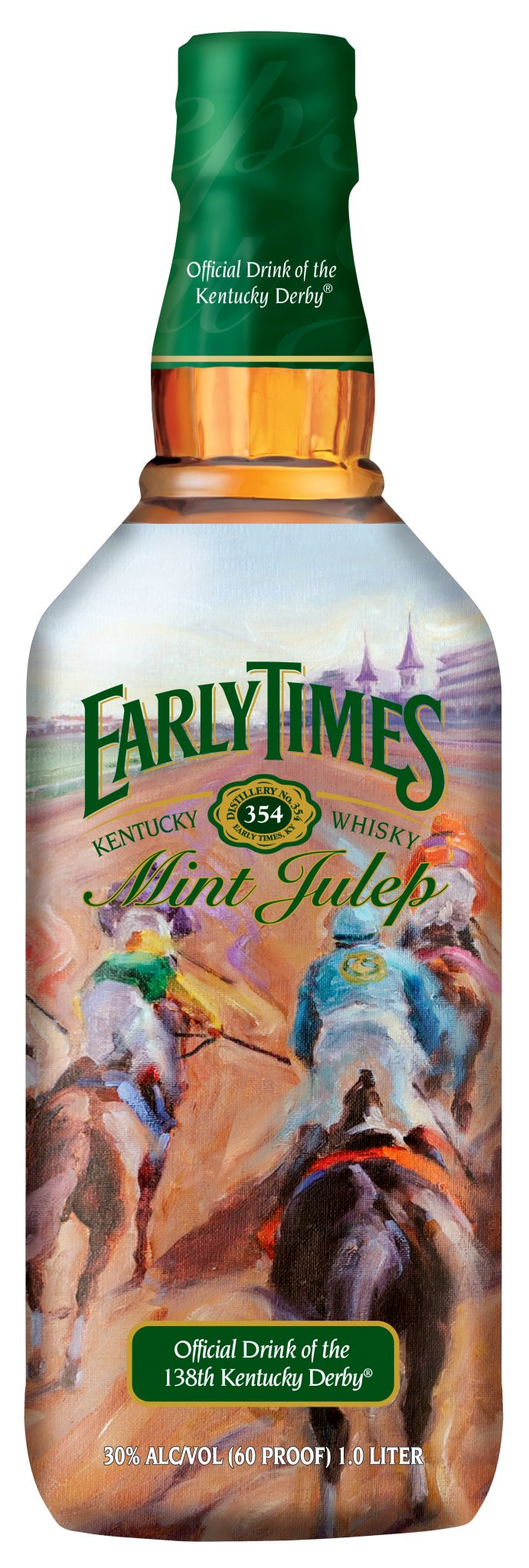 Early Times Mint Julep BOttle 2012 Kentucky Derby 138